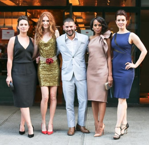 Guillermo Diaz w. the Ladies of