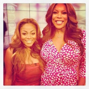 Wendy Williams and LaTavia Roberson