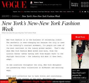 Vogue Italia Meme