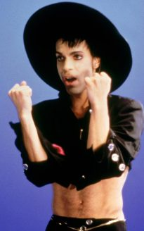 Prince in Dead Under Cherry 1986
